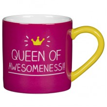 Queen of Awesomeness Mug | Happy Jackson