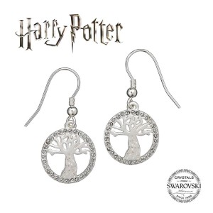 Harry Potter Whomping Willow SWAROVSKI Earrings