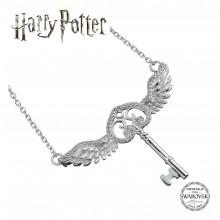 Silver Necklace Harry Potter Flying Key SWAROVSKI