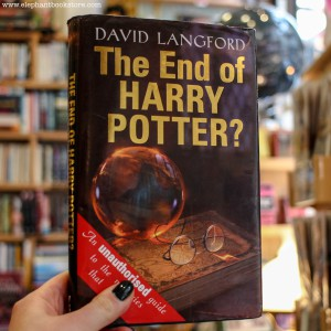 Langford David | The End Of Harry Potter Hard Covers