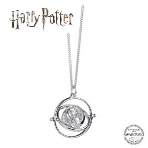 Silver Necklace Harry Potter Time Turner SWAROVSKI