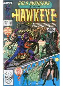 Comics 1989-07 Solo Avengers - Hawkeye 20