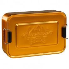 Алуминиева Кутия За Храна Златен Цвят GEN052