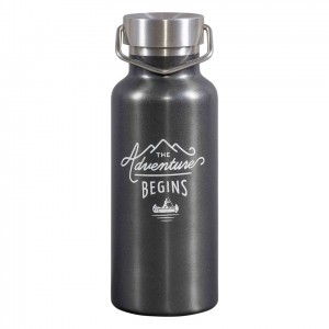 Water Bottle Dark Grey GEN326