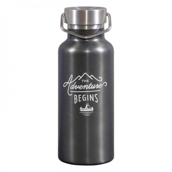 Gentlemen's Hardware - Бутилка за Вода в Тъмно Сиво GEN326 1