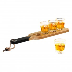 Shot Glasses and Serving Paddle GEN149