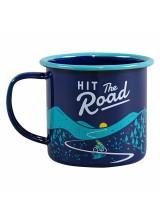 """Емайлирано канче №322 """"Hit the Road"""""""
