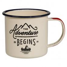 """Емайлирано канче GEN025 """"The Adventure Begins"""""""