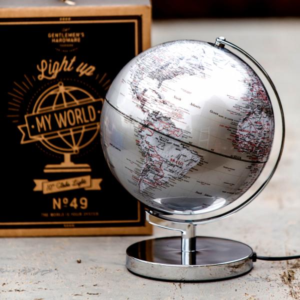 """Gentlemen's Hardware - Глобус лампа """"Моят свят"""" GEN008 1"""