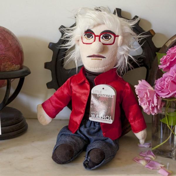 Unemployed Philosophers Guild - Колекционерска мека кукла - Анди Уорхол  1