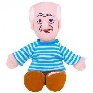 Колекционерска мека кукла - Пикасо