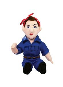 Колекционерска мека кукла - Роузи Нитовачката