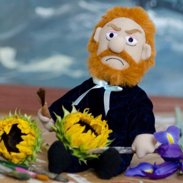 Unemployed Philosophers Guild - Колекционерска мека кукла - Ван Гог  1