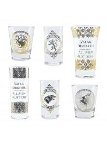 Комплект Чаши за Шотове Игра на Тронове GLSSGT01