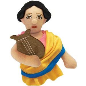 Магнитна мъпет-кукла за пръст – Сафо