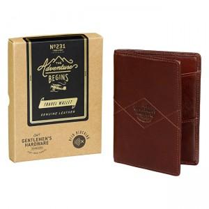 Leather Travel Wallet GEN231
