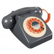 Ретро Телефон Модел 746 | Цвят Бетонно сиво