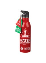 Water Bottle Red Thirst Extinguisher MIC014