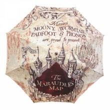 Umbrella Harry Potter Marauder's Map UMBRHP04