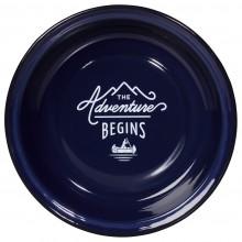 Дълбока емайлирана чиния