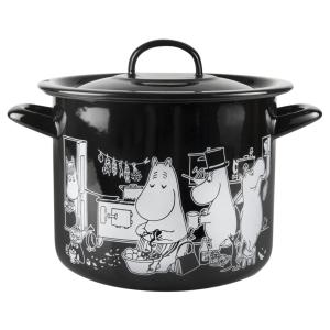 Enamel Pot Moomins in the Kitchen