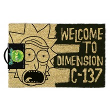Изтривалка Rick and Morty Dimension C137
