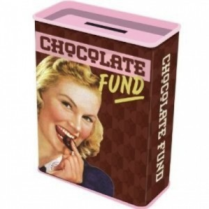 Money Box CHOCOLATE FUND