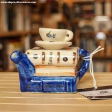 Малък Чайник Books and Tea Austen Emma за Една Чаша