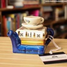 Малък Чайник Books and Tea Austen за Една Чаша