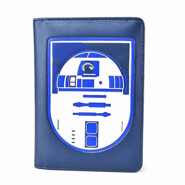 PHSW02 Портфейл за Паспорт Star Wars R2D2 1