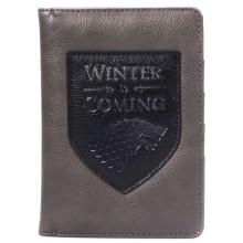 Портфейл за Паспорт Игра на Тронове Зимата Идва PHGT02