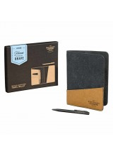 Travel Wallet and Pen Recycled Leather GEN299