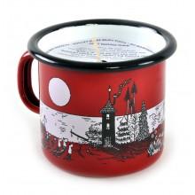 Свещ в Емайлирано Канче Мумин Moominvalley