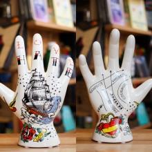 Татуирана Декоративна Ръка за Бижута Hate