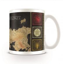 Чаша Игра на Тронове Карта