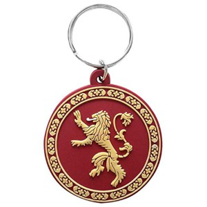 Rubber Keyring Game of Thrones Lannister