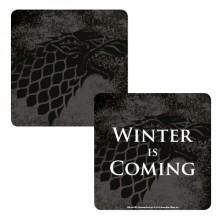 Лентикулярна Подложка за Чаша Игра на Тронове Winter is Coming CST1GT08