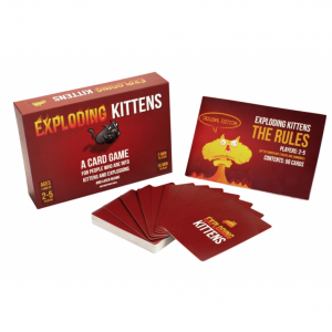 Card Game Exploding Кittens