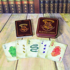 Playing Cards Hogwarts in a Tin