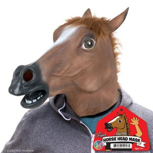 Mask Horse Head