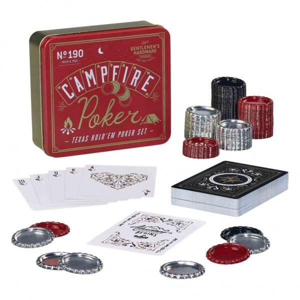 Gentlemen's Hardware - Покер Сет в Метална Кутия GEN173 1