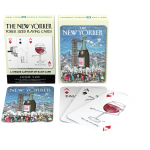 Playing Cards Have a Drink New Yorker