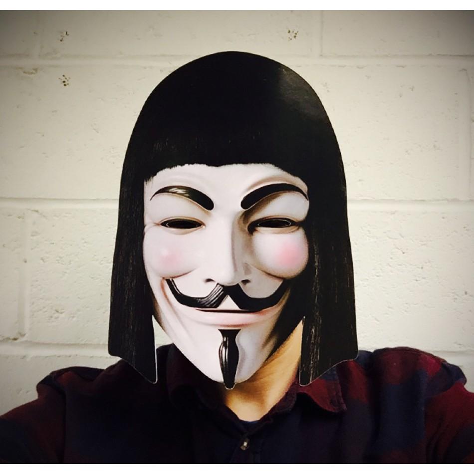 Face Mask V For Vendetta Elephant Bookstore