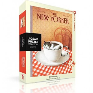 Jigsaw Puzzle The New Yorker 06-01-1992 Cattuccino 1000 Pieces