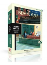 Пъзел The New Yorker 27-12-1999 Nighthawks New Year 500 Парчета