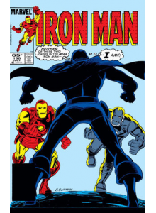 Комикс 1985-07 Iron Man 196