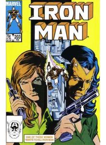 Комикс 1986-02 Iron Man 203