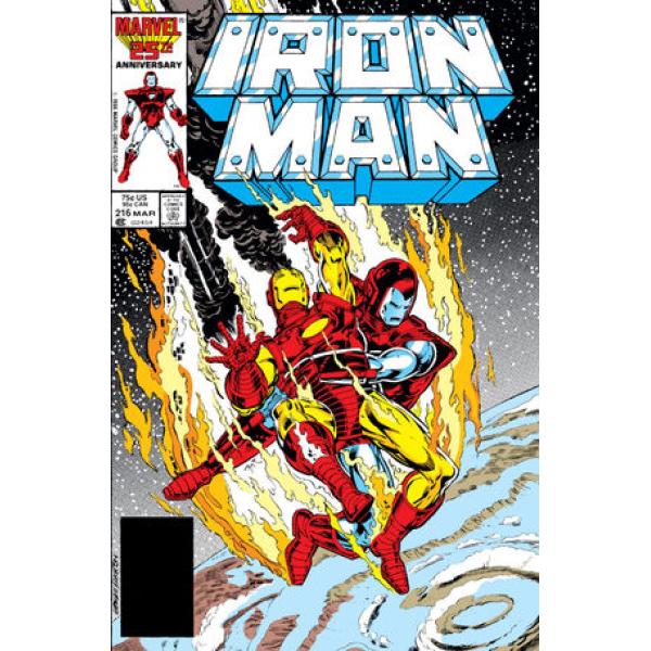 Комикс 1987-03 Iron Man 216 1