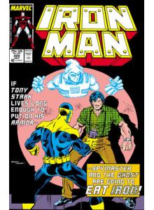 Комикс 1987-07 Iron Man 220