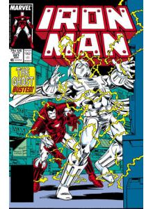 Комикс 1987-08 Iron Man 221